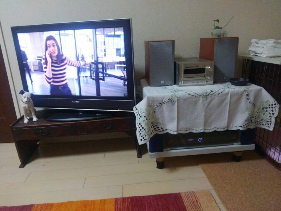 北欧家具風にDIY。手持ちのテレビ台を北欧家具の特徴である脚付きにしてみたよ!1