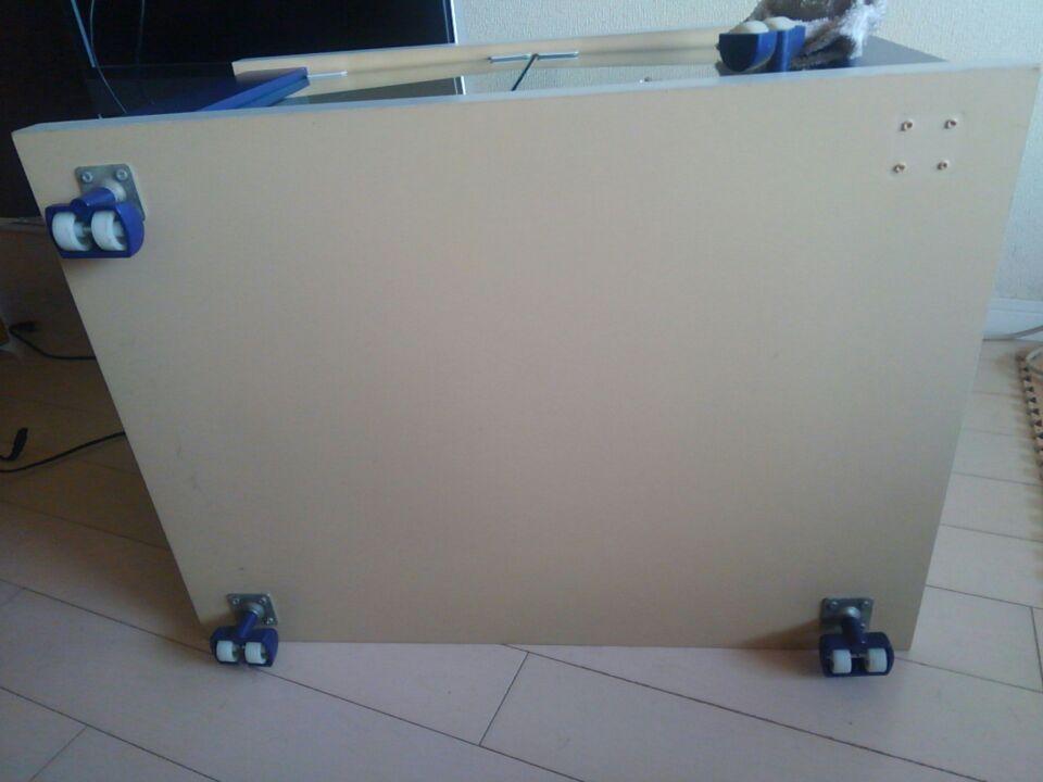 北欧家具風にDIY。手持ちのテレビ台を北欧家具の特徴である脚付きにしてみたよ!2