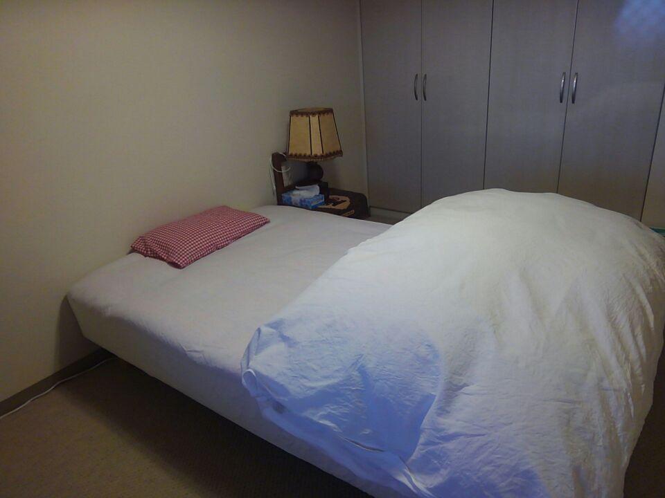 寝室のベッドの位置を変更・北東と体調の関係を検証してみる!ベッドの位置を北東から外し、枕を東向きにしてみた!!4