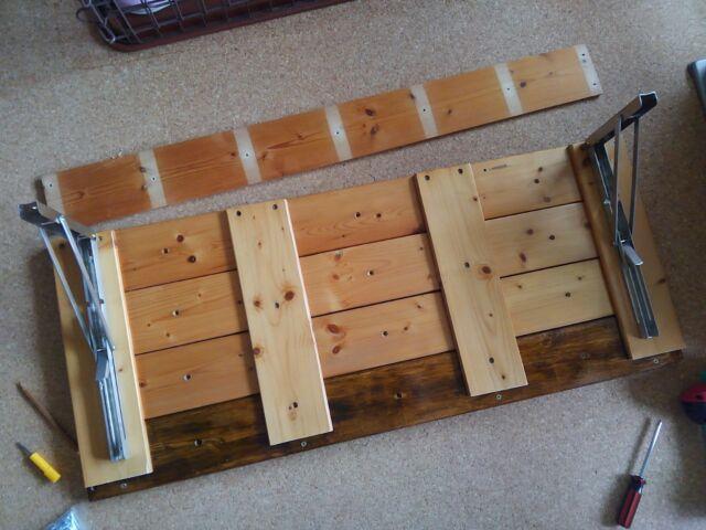 【DIY】窓下壁面、折り畳み式棚受けを利用したカウンター作り方2「棚板を完成させよう!」10