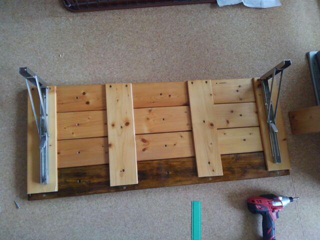 【DIY】窓下壁面、折り畳み式棚受けを利用したカウンター作り方2「棚板を完成させよう!」9