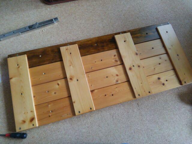 【DIY】窓下壁面、折り畳み式棚受けを利用したカウンター作り方2「棚板を完成させよう!」6