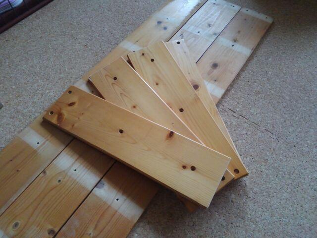 【DIY】窓下壁面、折り畳み式棚受けを利用したカウンター作り方2「棚板を完成させよう!」5
