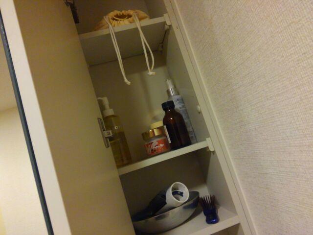 【100回捨てはじめました~67】洗面台の収納棚 洗面用具は必要最低限に「まずは、現状確認」3