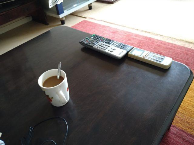 スッキリ片付いたテーブル