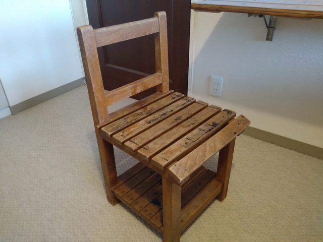 昭和の学校備品 木製椅子