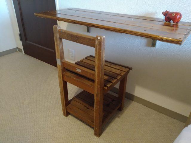 【大正ロマン・昭和レトロ】可愛い木製椅子は東京オリンピックの年のもの!